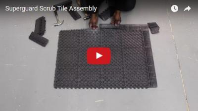 Superguard Scrub Tile Assembly