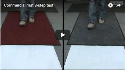 Commercial mat 3-step test