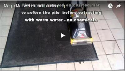Magic Mat wet extraction cleaning