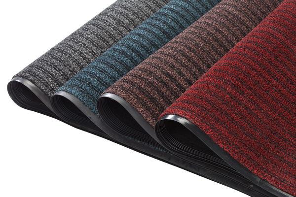PVC backed floor mats