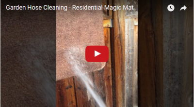 Garden Hose Cleaning- Residential Magic Mat